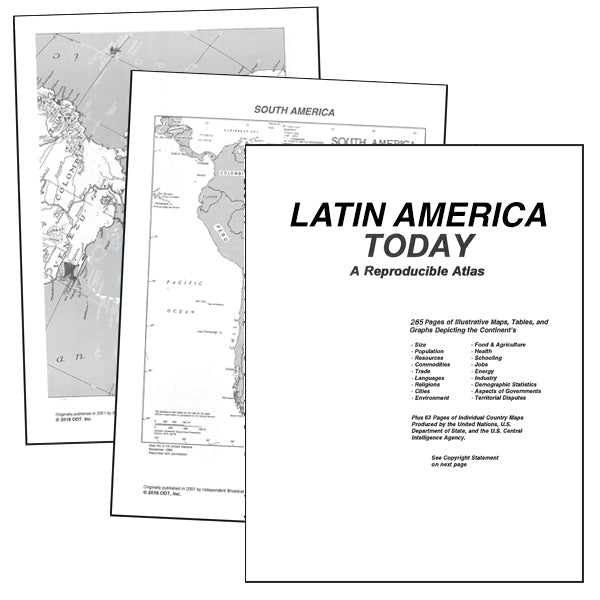 Latin America Atlas download * free digital download