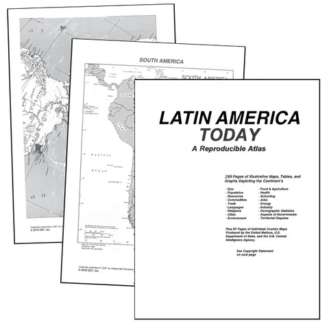 Latin America Atlas * digital license $39.95 for one location