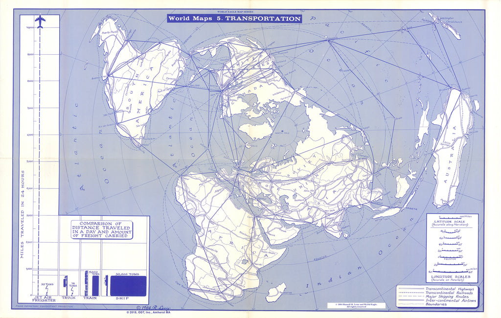 Map of Transportation * digital $1 download for personal use