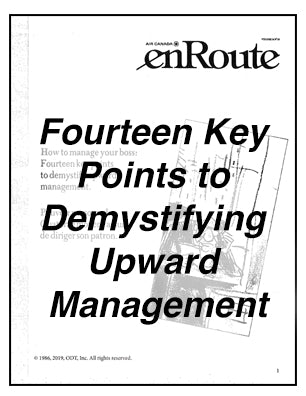 How to Manage Your Boss - 14 Key Steps to Demystify Upward Management * digital free * (Empowerment) 4-pages