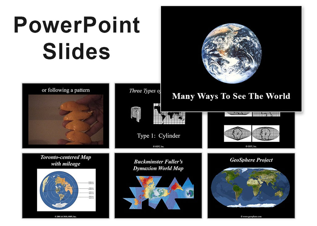 Many Ways to See the World - PowerPoint Slides (35+ images) * digital $5.95 download