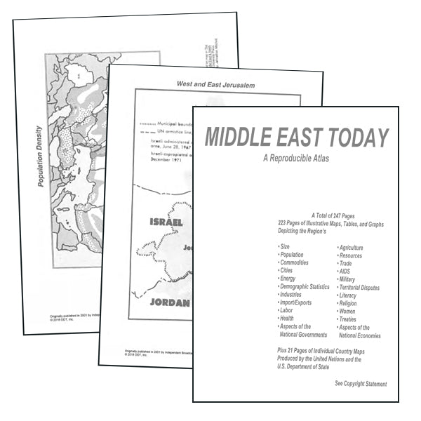 Middle East Atlas * download * digital $4.95