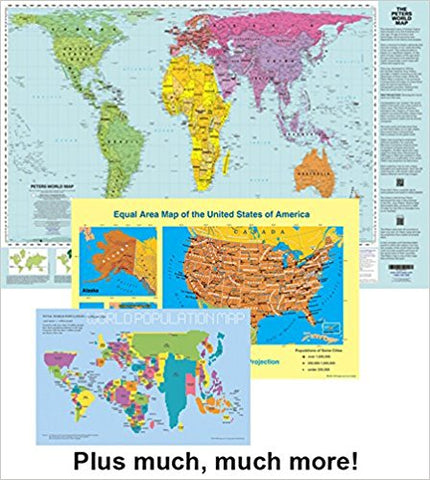Peters Projection Maps – Many Ways To See The World