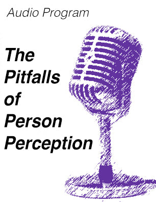 Pitfalls of Perception - MP3 audio file * digital download * free diversity seminar
