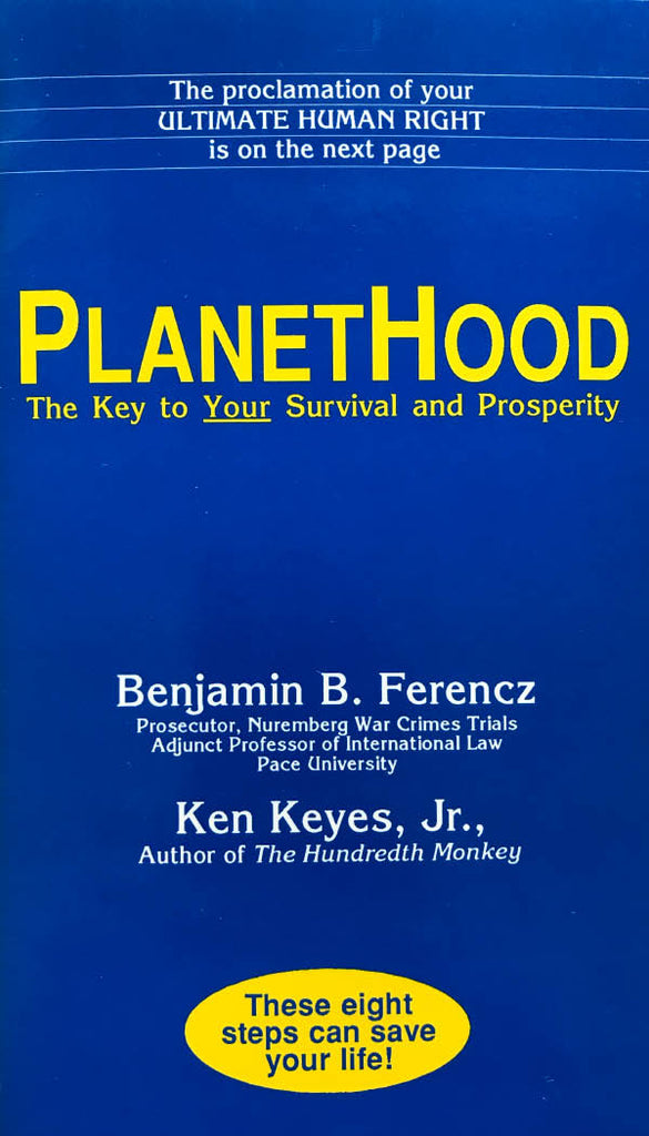 PlanetHood: The Key to Your Survival and Prosperity - 2019 e-book  * digital * Free