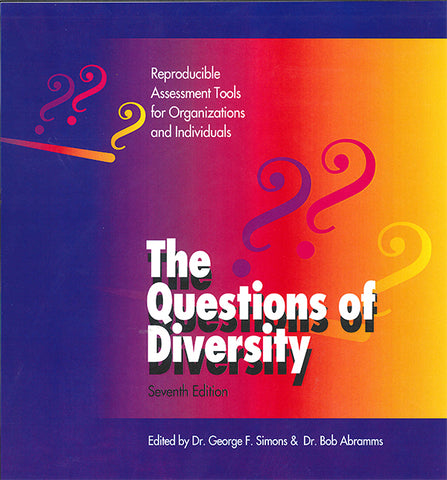 The Questions of Diversity - e-book - $4.95 download for personal use