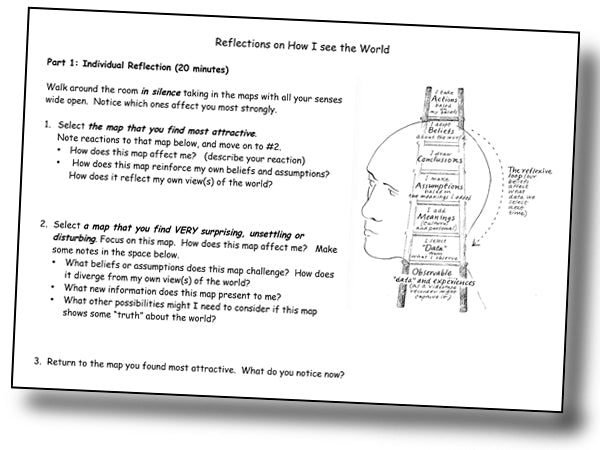 Reflections Activity worksheet * by Helen Spector * digital - free *