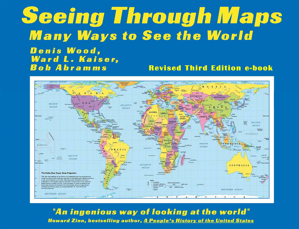 Seeing Through Maps: Many Ways to See the World - 2019 e-book - 3rd edition * digital $2.95
