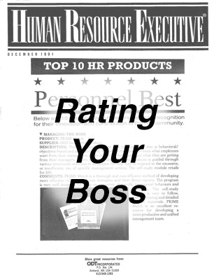 PRIME Match - Rating Your Boss * Empowerment licensing
