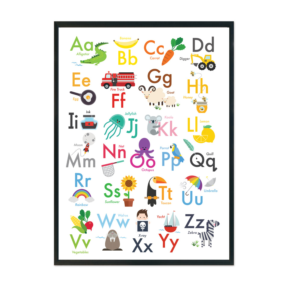 FREE ABC Alphabet Printable