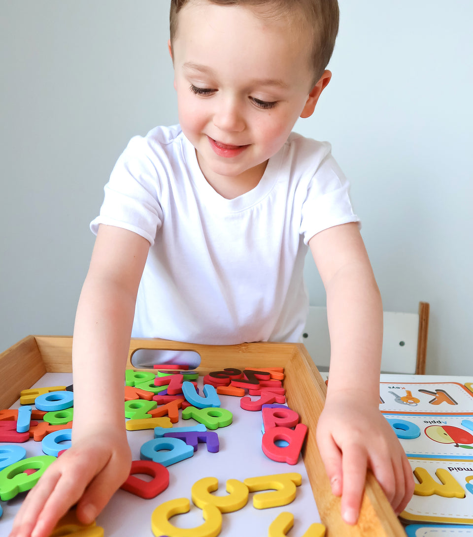Flashcards & ABC Magnetic Letters