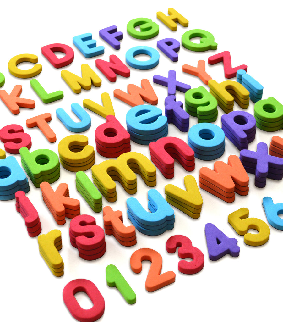 Foam Magnetic Letters and Numbers - Curious Columbus Kids
