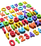Foam Magnetic Letters and Numbers
