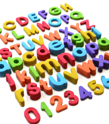 Foam Magnetic Letters and Numbers – Curious Columbus Kids