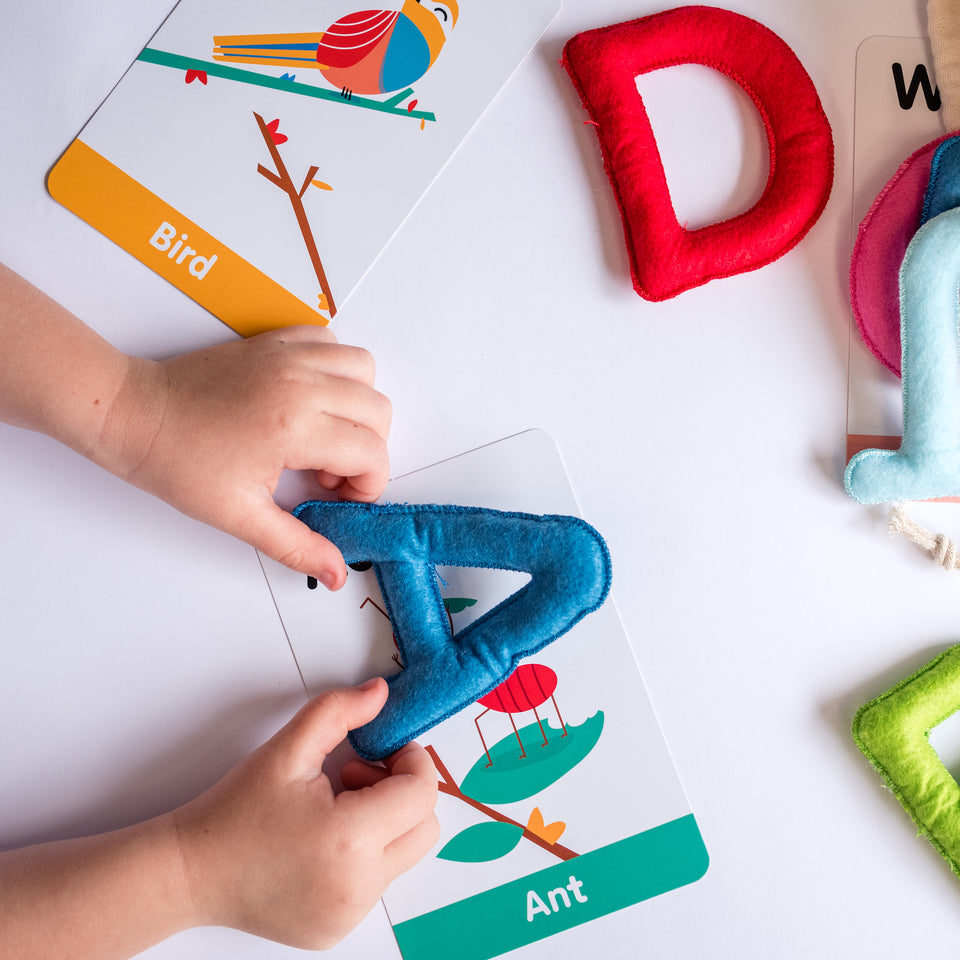 ABC Sensory Learning Felt Alphabet & Flashcard Set