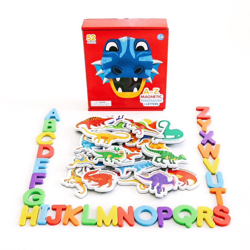 Magnetic Dinosaurs and Letters