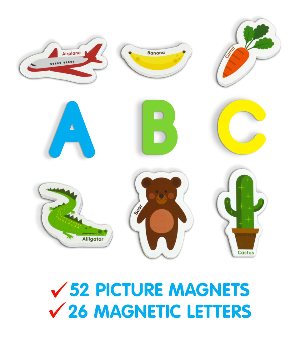 A-Z Magnetic Objects and Letters