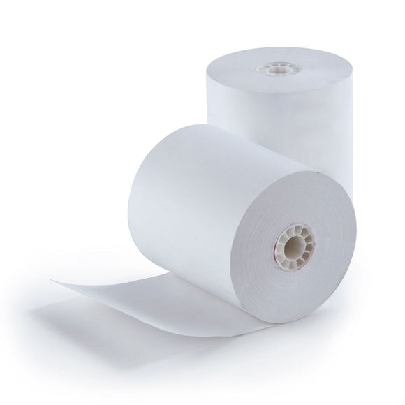3 x 3 single (bond) paper rolls 50 per case