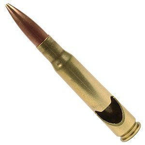 .50 caliber *Real Perviosuly Fired Shells* Bottle Openers- wholesale case of 10