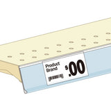 Shelf Price Ticket Mouldings -25 units per case