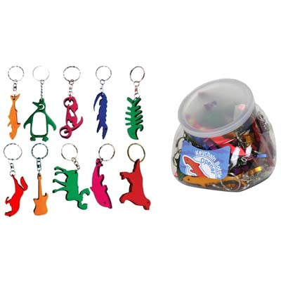 Bottle Openers -100 per crt - Animal Shapes- Key Chain-Free Shipping