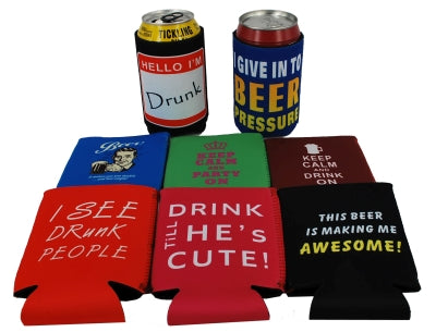 Can Koozie Mixed set - 24 per case