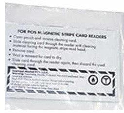 Credit card cleaners- 25 units per case