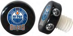Edmonton Oliers® Puck shapped bottle stopper- Free Shipping!