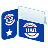 "Shelf Tag ""Made in the USA"" Shelf Tag - 25 per pack-Free shipping to Canada & USA- No minimum order!"