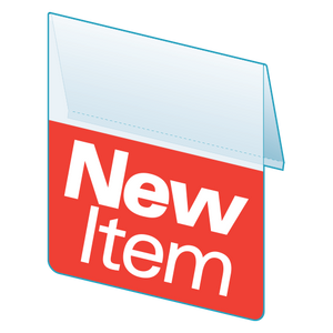 "Shelf Tags ""New Item""- 25 per pack-Free shipping to Canada & USA- No minimum order!"