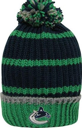 Vancouver Canucks®-Ladies Pom Pom Toque-Free Shipping