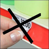 1.25 x 2.5 perforated label sheets -100 sheets per pack- other sizes available!-Free Shipping