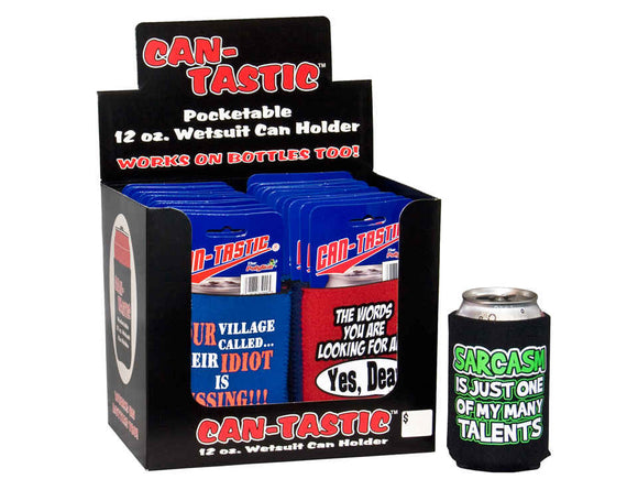 Sarcastic Can or Bottle Coozies- 36 per pack