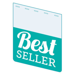 "Shelf Tags ""Best Seller"" shelf tabs - 25 per case-Free shipping in Canada & USA! No minimum order!"