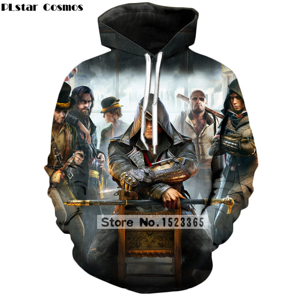 Assassin's Creed Print 3D Hoodie Pullovers