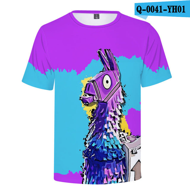 2018 Fortnite 3D T-shirts Variety Unisex