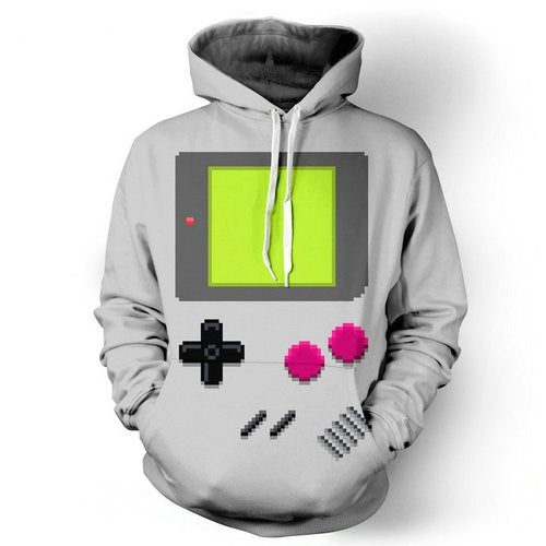 Gameboy Classic Video Game Hoodie