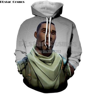 Fortnite Hoodies Men's/Women's Winter Cap Sweatshirt