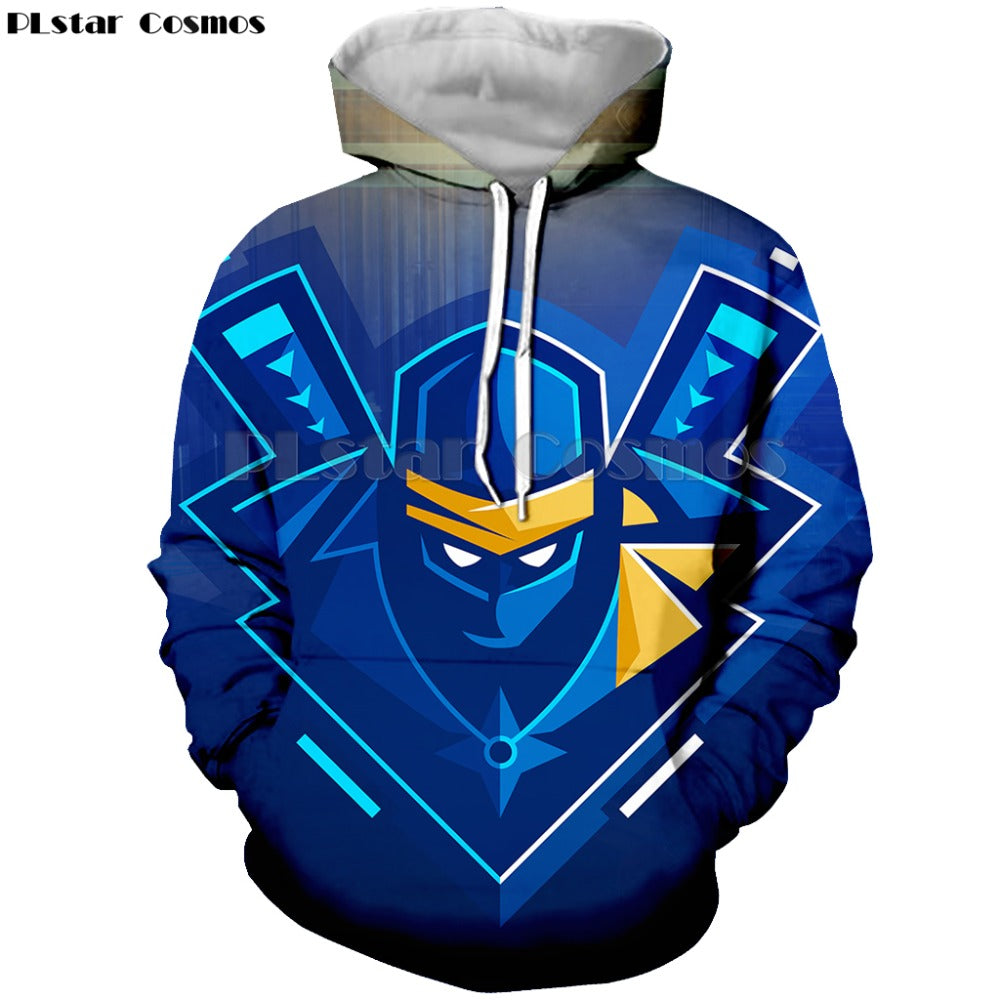 Fortnite Voyager Space 3D print pullover Hoodies