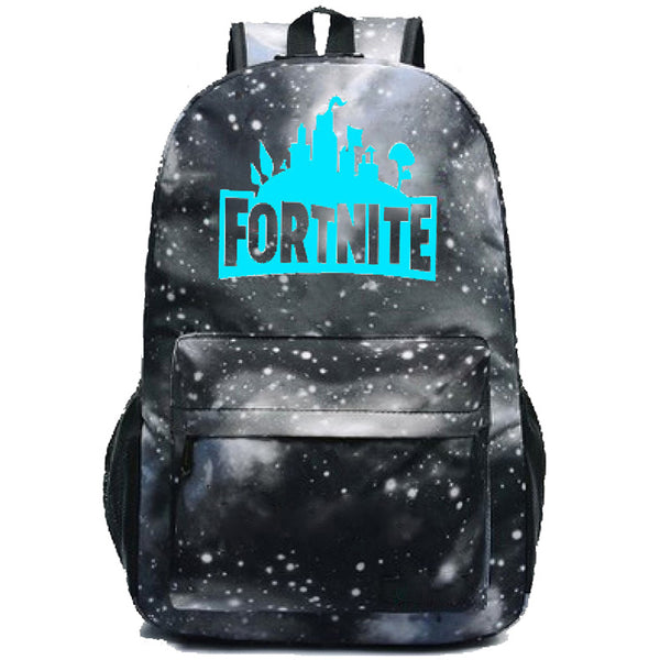 Fortnite Battle Royale Printed Canvas Students Backpack