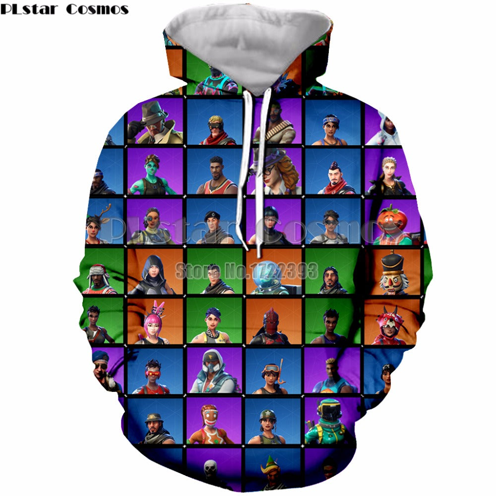 Fortnite Game Hoodie Unisex High Quality Variety