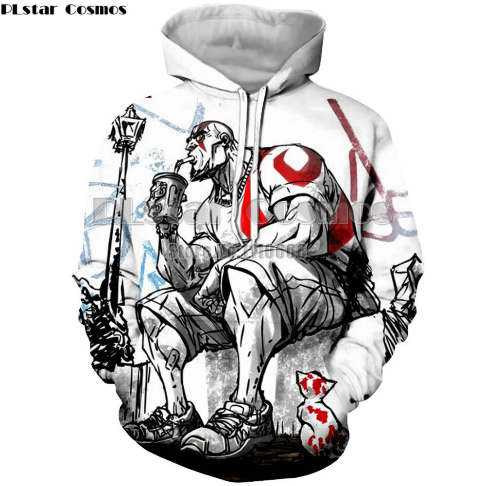 God of War Men's/Women's Hooded Sweatshirt