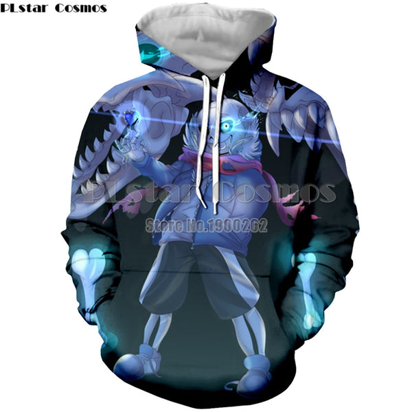 Undertale 3D Hoodies  Men's/women 3d Print Sweatshirt S-5XL