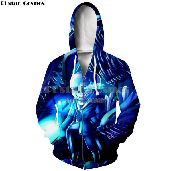 Undertale Hoodies man women zipper Hoodie S-5XL