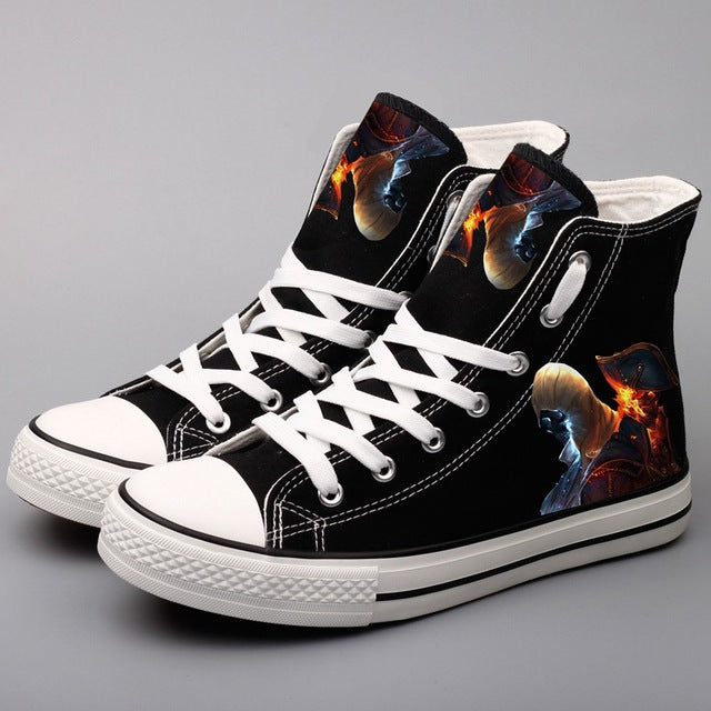 Assassin's Creed Skeleton / Character Printed Men Casual Walking Shoes