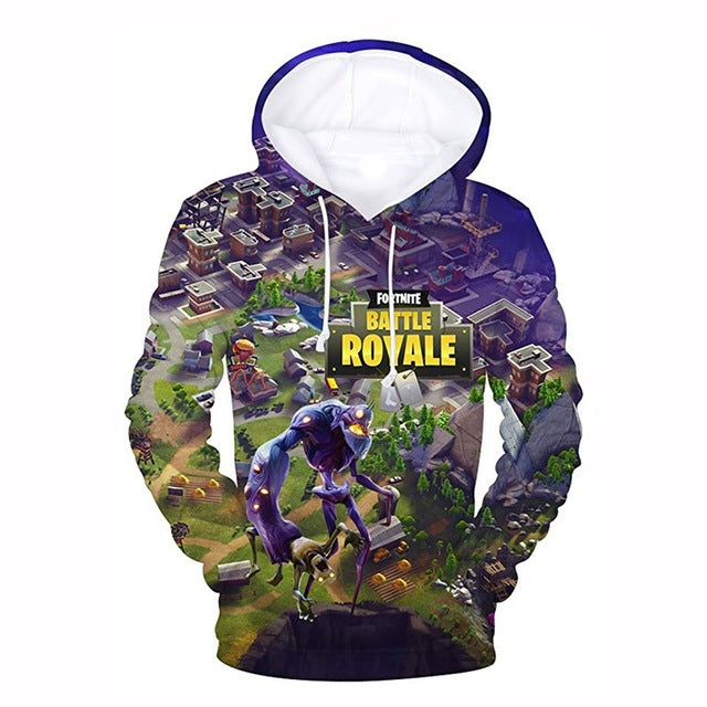 Fortnite Game 3D Hoodies Sweatshirts Men / Women
