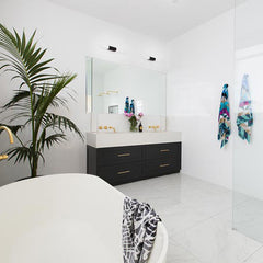 Ninnho Towels feature on a winning room on The Block