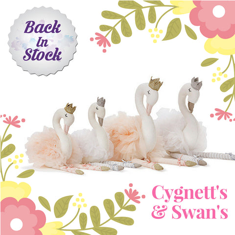 Scarlett the Cygnett Soft Toy