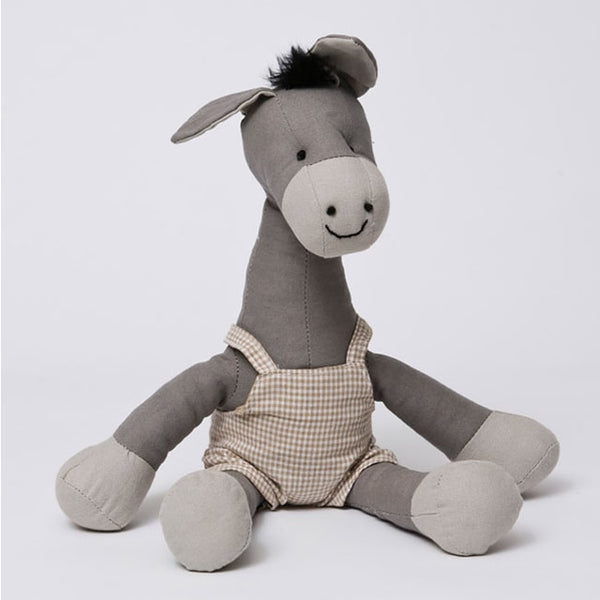 Edwardo the Donkey Soft Toy