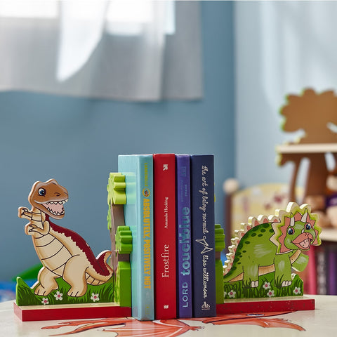 Dinosaur Kingdom Bookends Set